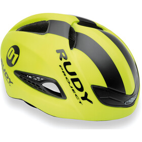 Rudy Project Boost 01 Cykelhjelm, Yellow Fluo - Black (Matte)
